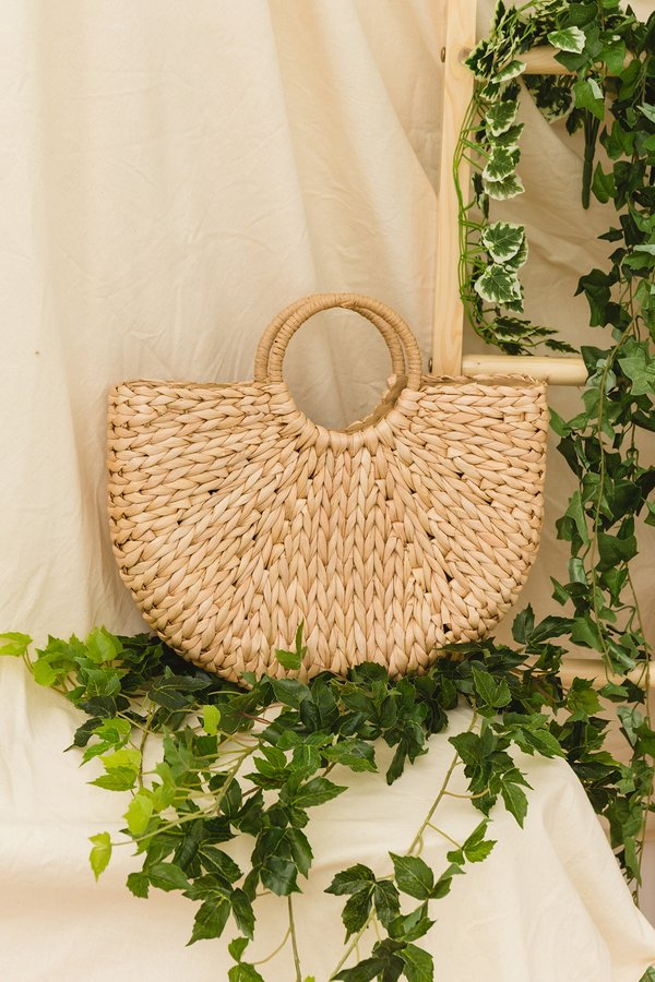 Larger than Life Rattan Bag