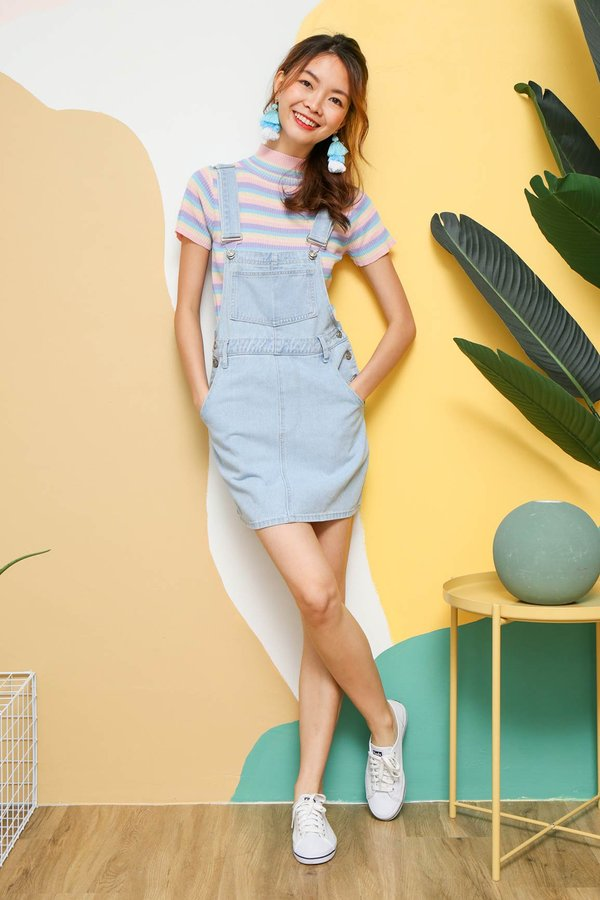 Dominate Denim Dungaree Dress