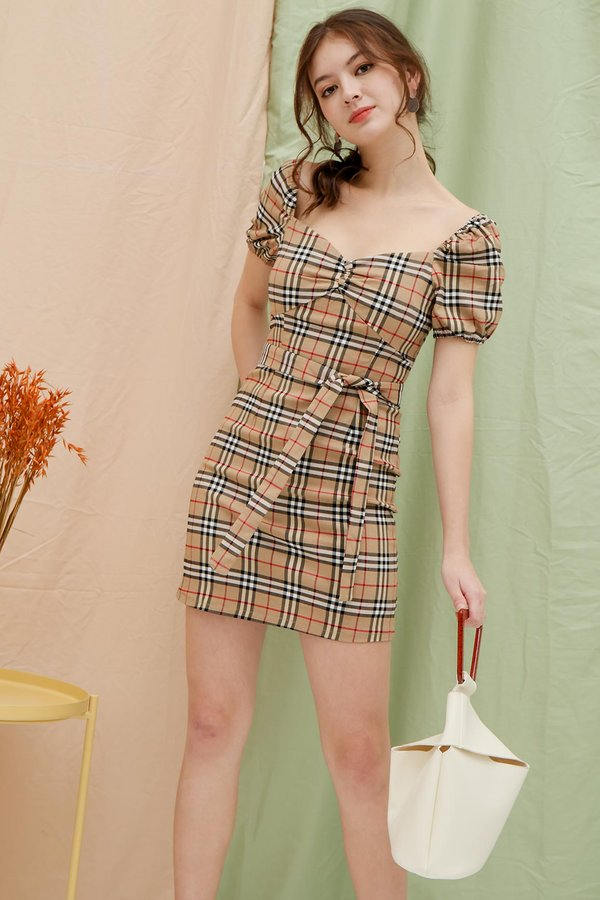 Pastoral Styled Urban Work Dress Nova Checks
