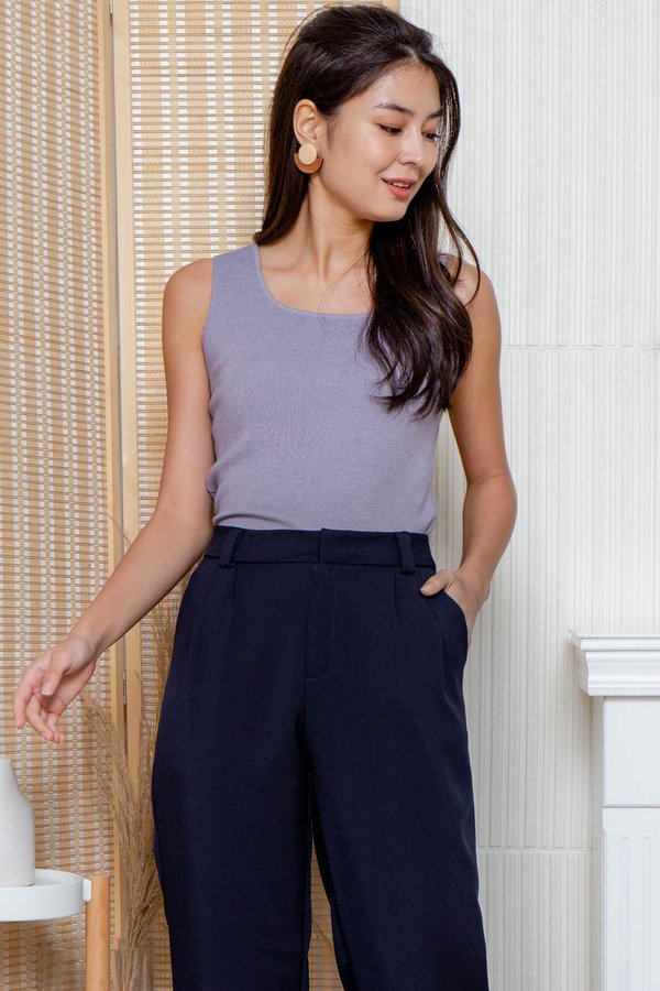 Covered Angles Seamlessly Knit Top Lilac
