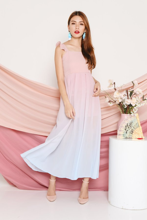 Fairytale Flutters Ombre Maxi Dress Paddlepop