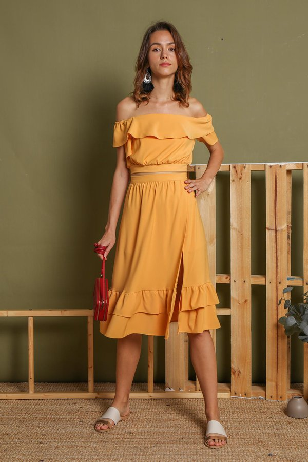 Musing Gypsy Two Piece Set Marigold