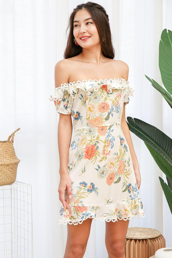 Flourishing Arches Floral Dress